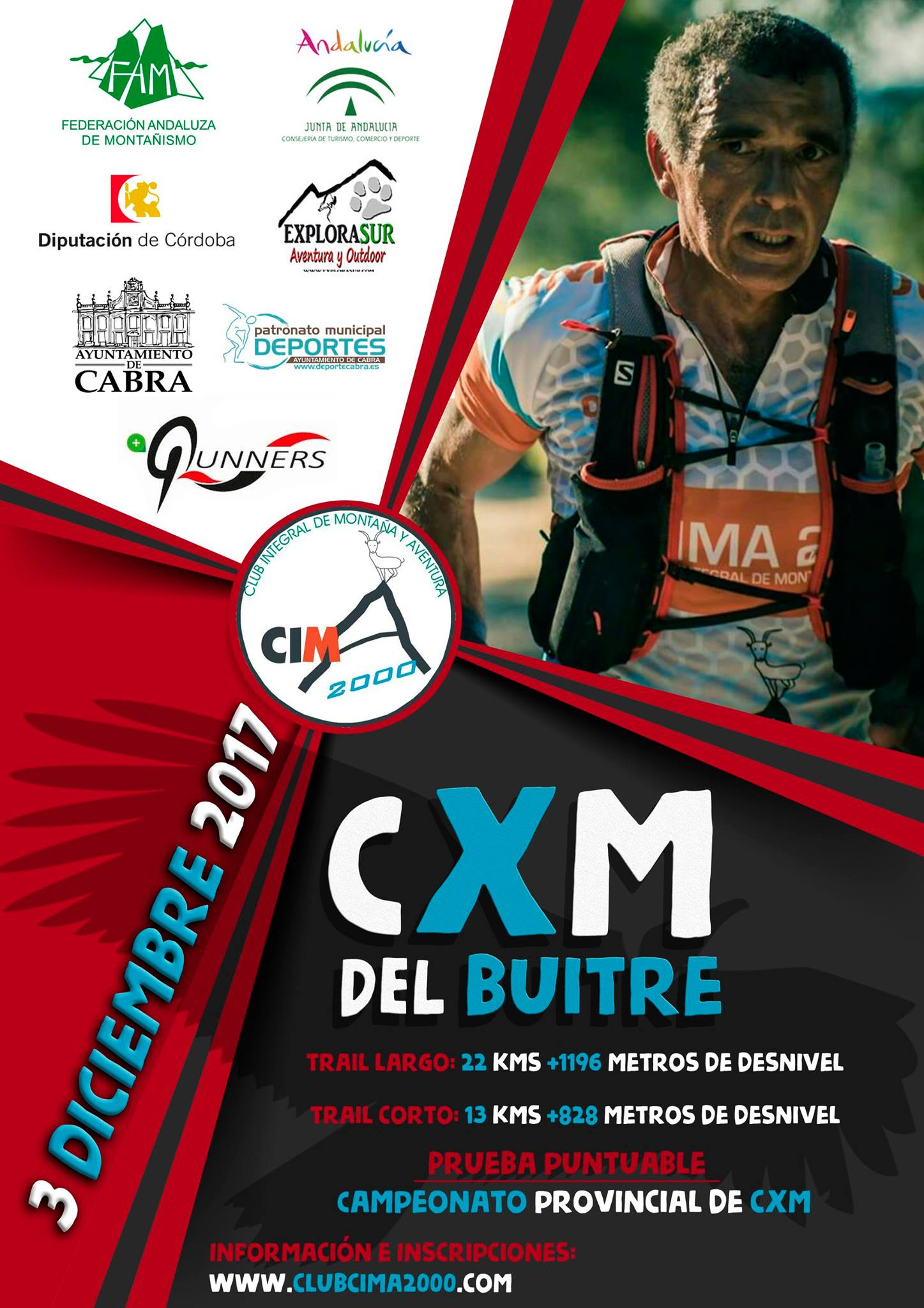 CxM del Buitre - Trail Largo - Sprint Chip