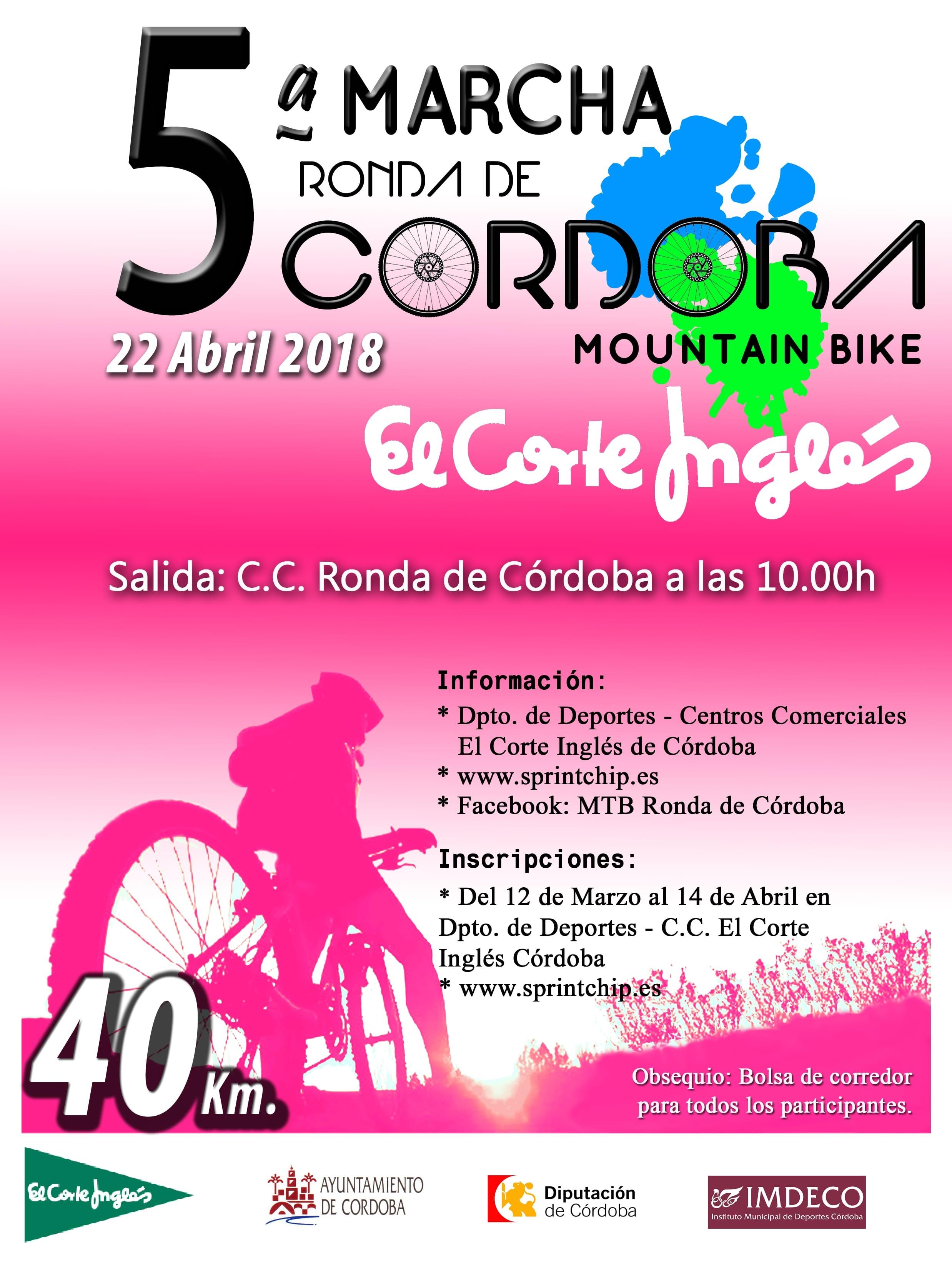5ª MTB Ronda a Córdoba 'El Corte Inglés' - Sprint Chip
