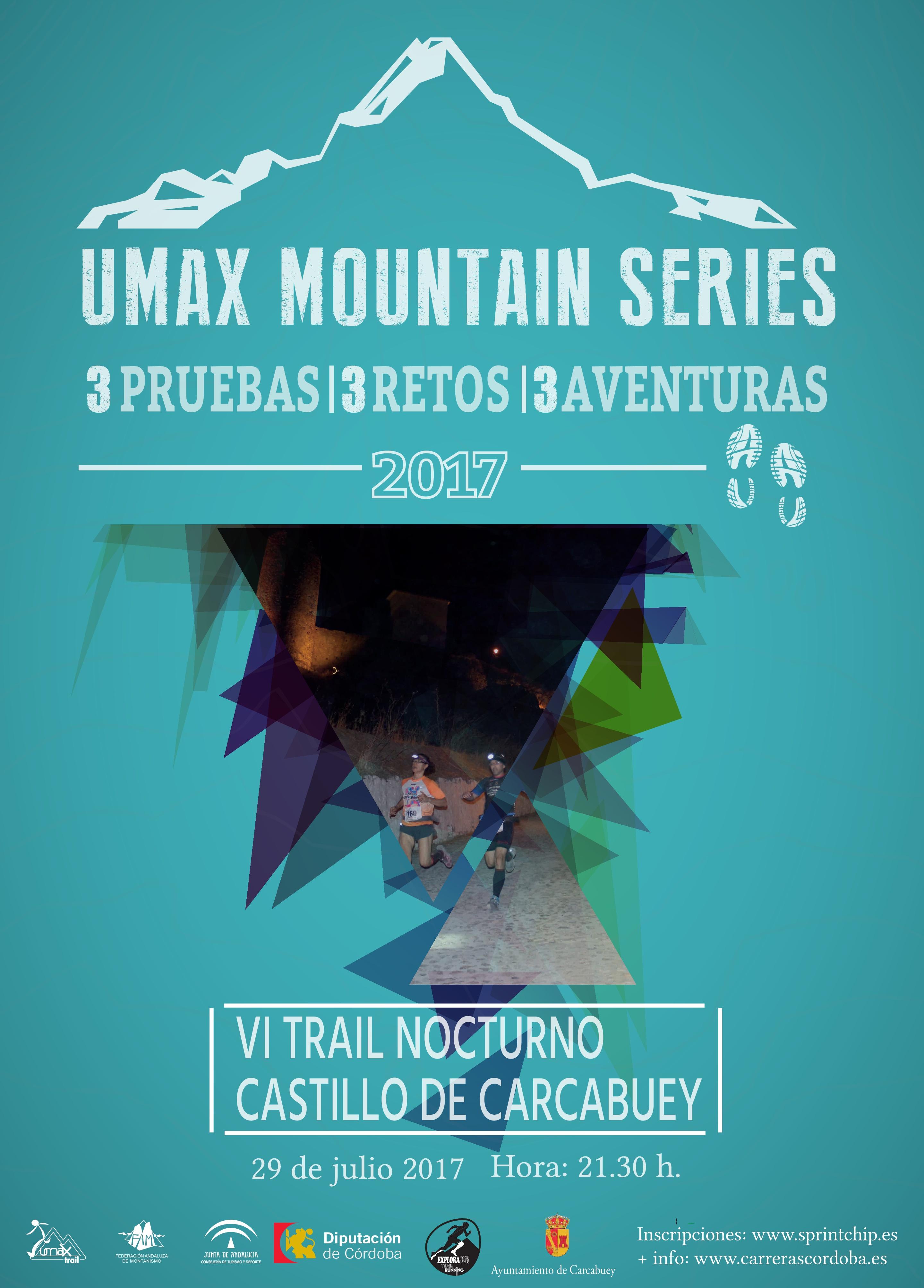 Pareja Mixta 14Km - VI Trail Nocturno Castillo de Carcabuey  - Sprint Chip