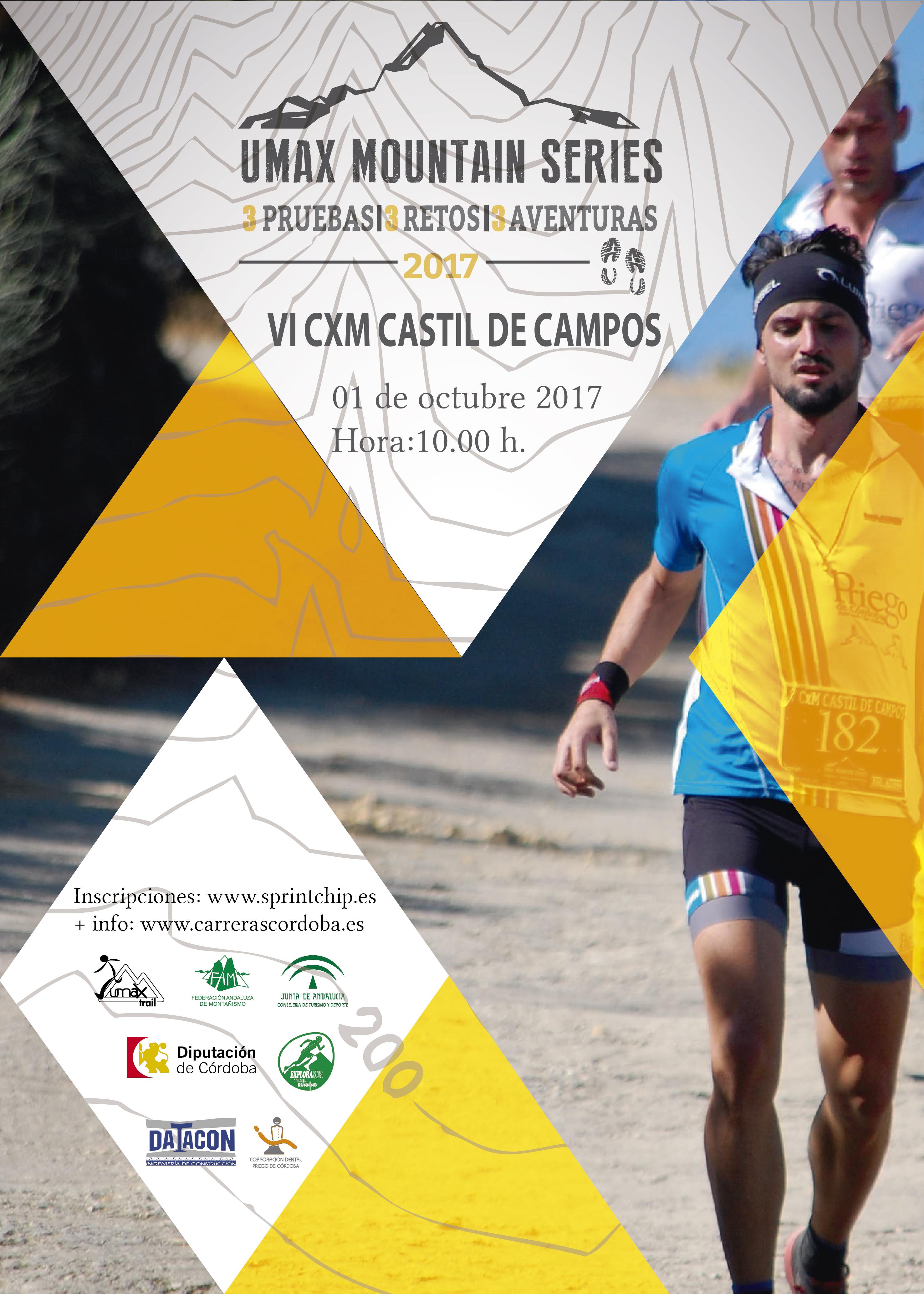 VI CxM Castil de Campos - Trail Corto - Sprint Chip