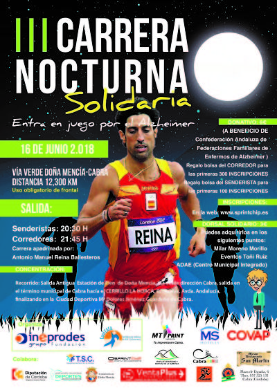 III Carrera Nocturna Solidaria Fundación Grupo Ineprodes - Sprint Chip