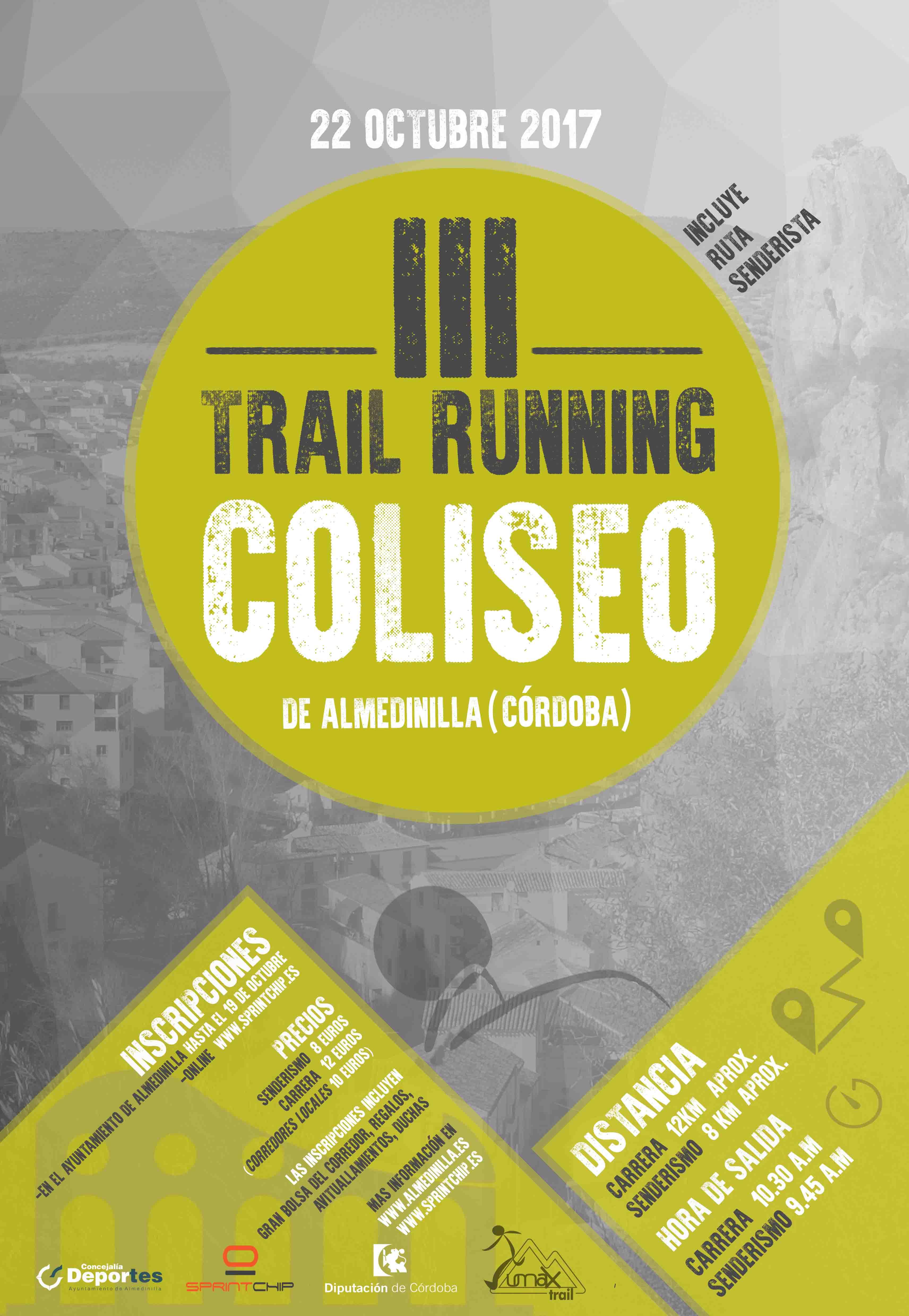 III Trail Running Coliseo de Almedinilla - Sprint Chip