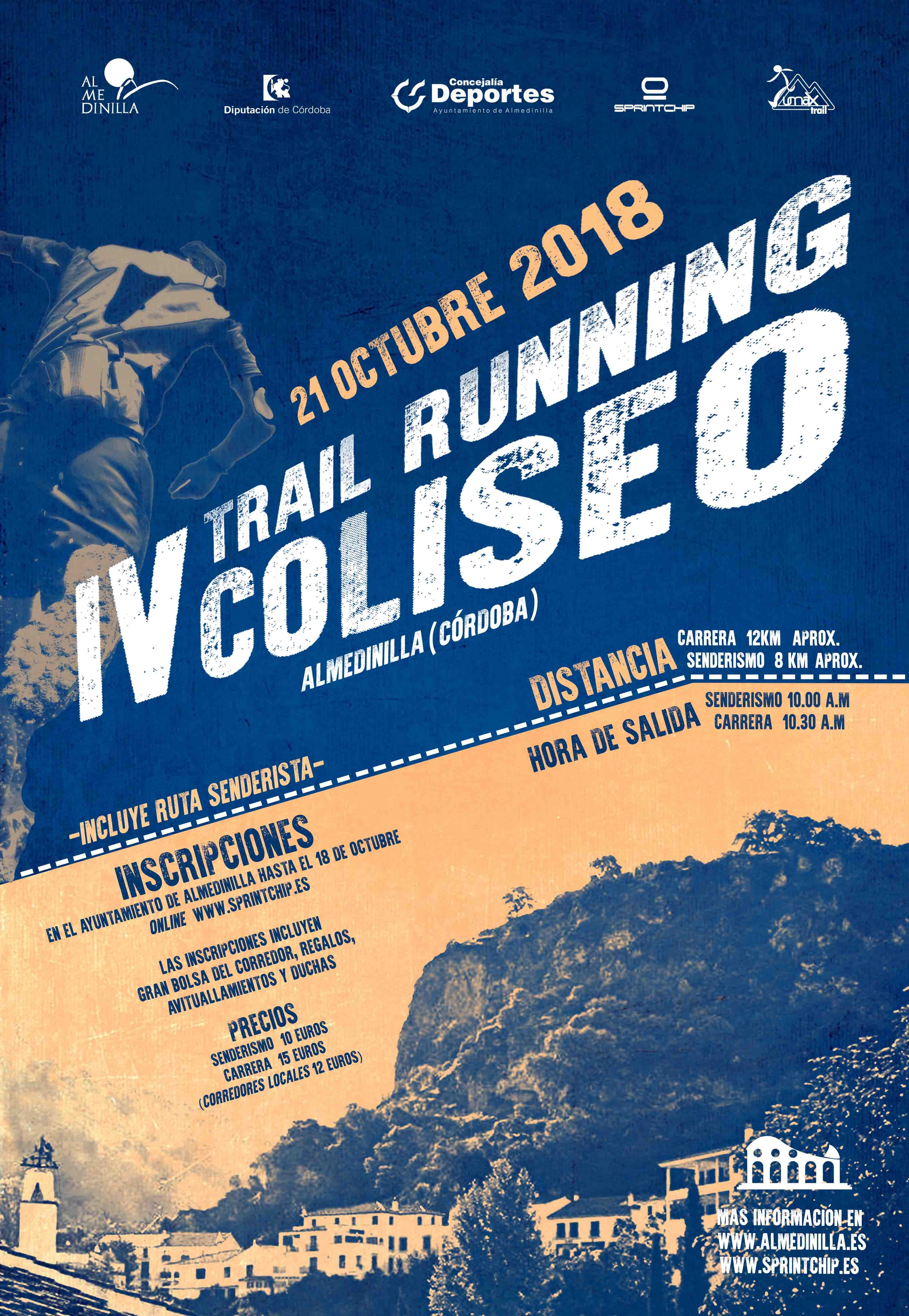 """""""IV Trail Running Coliseo de Almedinilla' - Sprint Chip"""