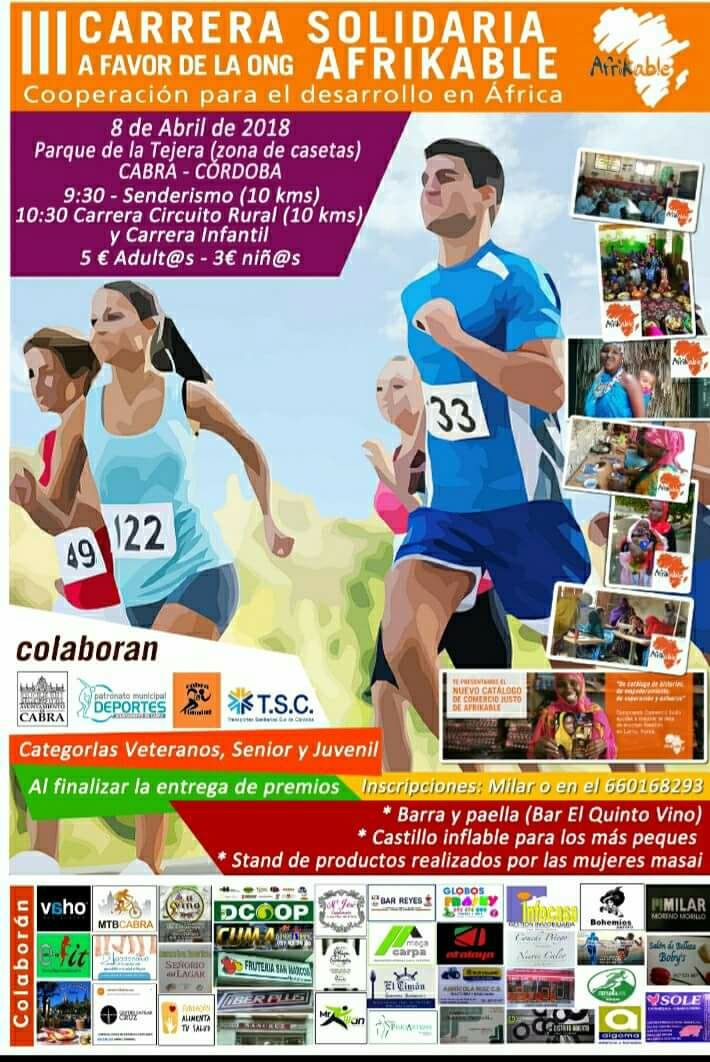 III Carrera Solidaria AFRIKABLE - Sprint Chip
