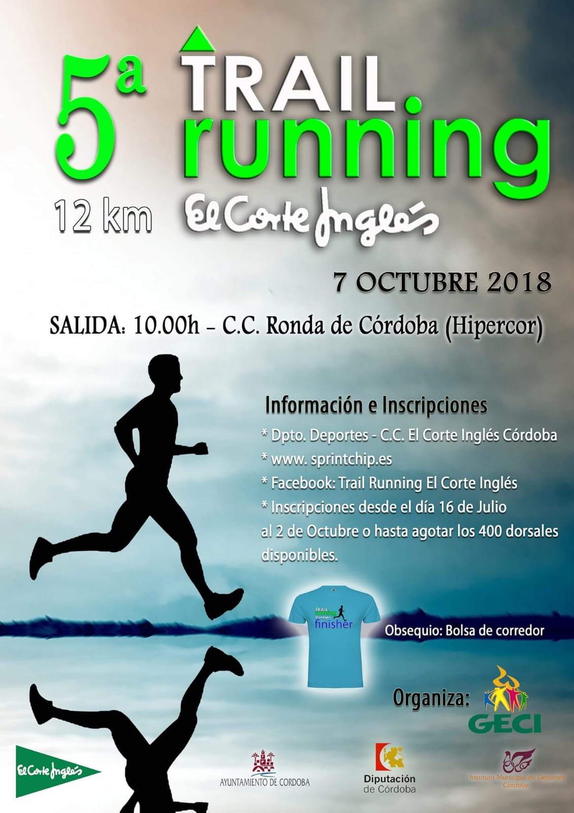 5ª Trail Running 'El Corte Inglés' - Sprint Chip