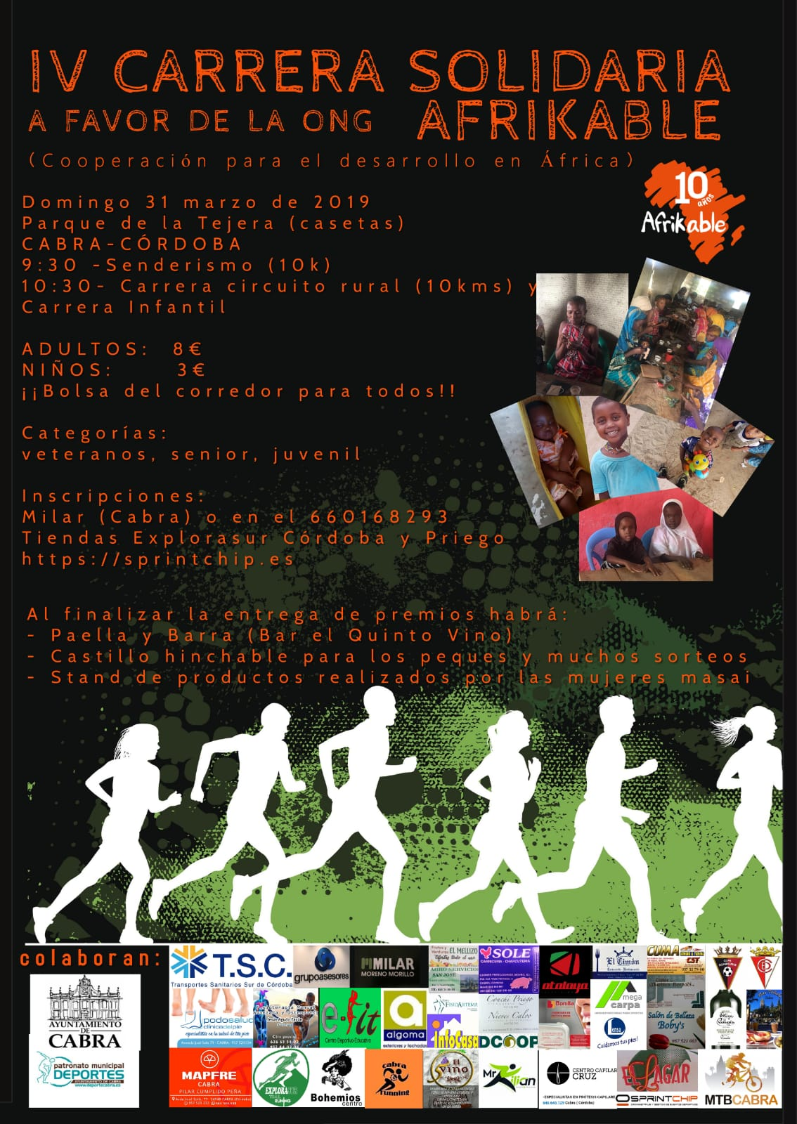 IV Carrera Solidaria AFRIKABLE - Sprint Chip
