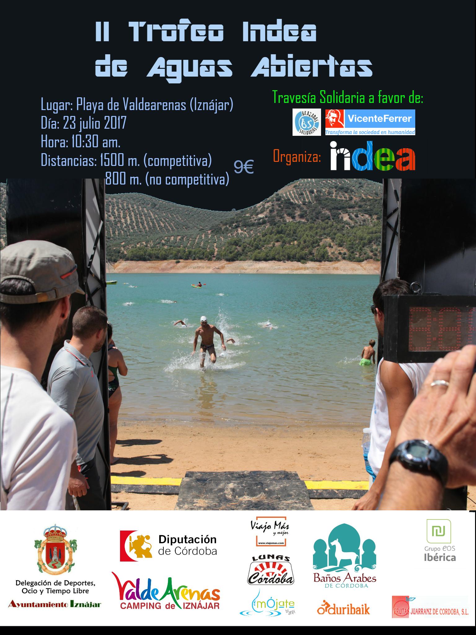 II Travesía Trofeo INDEA de aguas abiertas - Sprint Chip
