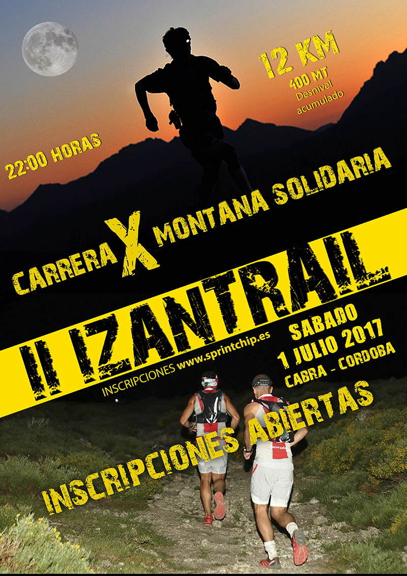 II IZAN TRAIL - Sprint Chip